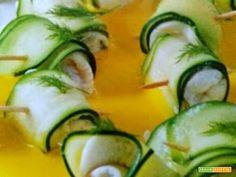 Involtini di platessa e zucchine  #ricette #food #recipes