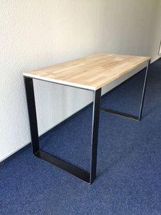 Esstische - 2er Set Tischbeine Stahl Design Tisch - ein Designerstück von Blechmacher bei DaWanda