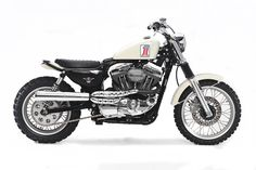 The Spirit of '71: A Harley XL1200C scrambler by Greg Hageman.