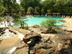 Houstonian's pool- the kids' favorite. I appreciate swimming in Houston. You don't freeze when you get out of the water.