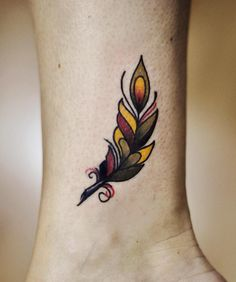 Done yesterday ❤️ little traditional feather