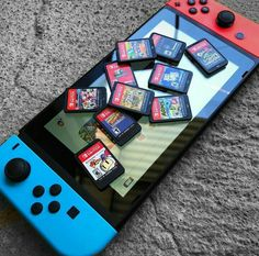 Nintendo Switch Games, Cheap Video Games, Nintendo 3ds, Lego Custom Minifigures, Gamer News, Nintendo Switch Accessories, Just Video, Video Game Rooms, Gameroom Ideas