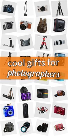Are you searching for a present for a photograpy lover? Get inspired! Checkout our ulimative article of gifts for photograpy lovers. We have cool gift ideas for photographers which are going to make them happy. Buying gifts for photographers does not need to be difficult. And do not necessarily have to be expensive. #coolgiftsforphotographers School Birthday Treats, Gifts For Photographers, Popsugar, Cool Gifts, Searching, Cool Stuff, Stuff To Buy, All In One, Lovers