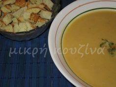 Κολοκυθόσουπα Cantaloupe, Mashed Potatoes, Fruit, Ethnic Recipes, Soups, Halloween, Food, Whipped Potatoes, Essen