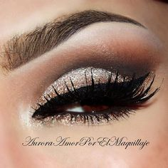 Brown Glitter Eye Shadow #eyeshadow #makeup