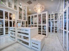 Beautiful closet. ❤️