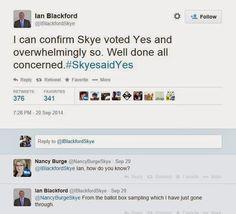 Skye Votes Yes! #udiNOW