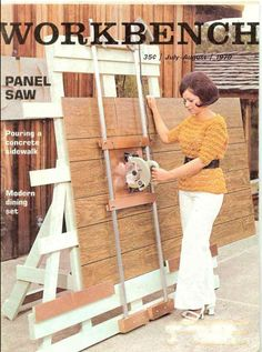 Learn Woodworking, Woodworking Techniques, Woodworking Projects Diy, Woodworking Plans, Sierra Vertical, Serra Circular, Panel Saw, Old Dressers, Shop Layout