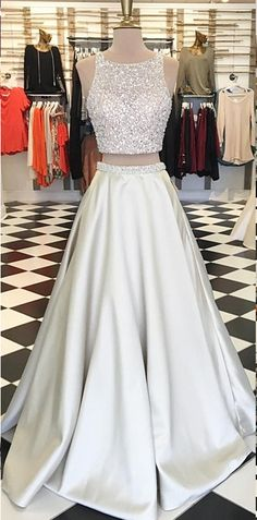 Hot sexy two-piece suit prom Dresses long prom dress, lace prom dress, long sleeve prom dress, a line prom dress, evening dress · prom dress · Online Store Powered by Storenvy Bling Prom Dresses, Gorgeous Prom Dresses, Homecoming Dresses Long, Junior Prom Dresses, Prom Dresses Two Piece, Prom Dresses For Teens, Elegant Prom Dresses, Beaded Prom Dress, Backless Prom Dresses