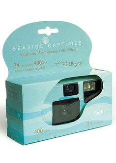 Beach Theme Disposable Camera (24 exp) from Wedding Favors Unlimited