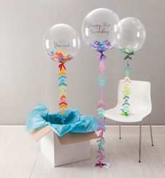 12 inch Clear Bubble Balloons - 10 pcs/pack (30cm) - balloonsale