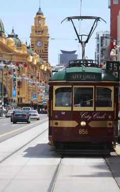 Free for everyone. The No 35 City Circle Heritage Tram. It circles the CBD (City Business District) . Melbourne, Victoria, Australia The dead sea spa elixir on site: Perth, Brisbane, Melbourne, Victoria Australia, Australia Travel, Western Australia, Sydney, Great Barrier Reef, Cairns