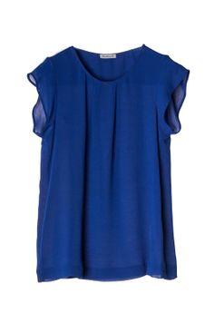 MARILENA B. € 57,80  SHIRT  crepe - round collar - button closing - solid color. www.marilenab.it
