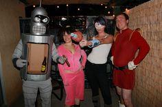 Bite My Shiny Metal Ass! Homemade Futurama Costumes - Imgur