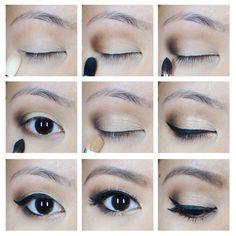 Full Bridal Makeup Step By Step : Makeup - Asian Eyes on Pinterest Asian Make Up, Asian ...