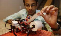 Shubham Banerjee -13 year old inventor