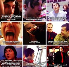 Frank Iero | funny moments