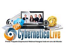 Photo: CyberneticoLive..,, La Unica Plataforma que une la Tecnologia Webinar/Hangout con las herramientas de Embudo de Marketing..  http://marketingonlineconexito.com