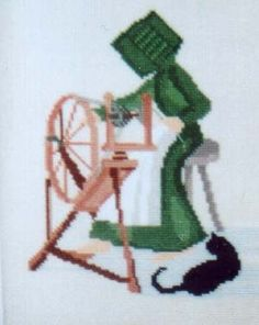 Spinning - Cross Stitch Pattern