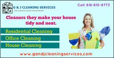 Retain Your house first look forever  G & J Cleaning Services are better Cleaning Service Santa Monica. Whether business volume is low or high. They will take responsibility to deliver the Best Facility Service at your premises. For more information, call at 818-810-8773. Visit: http://www.gandjcleaningservices.com