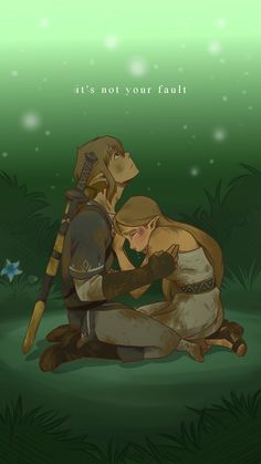 """Why am I saving a Zelda post to this board? Because if you know the story of Zelda from """"Breath of the Wild"""", you might find her plight, at least conceptually, extremely familiar... Sobbed like a baby for her in the scene where she prays at the spring."""