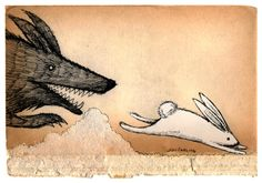 """joncarling: """"chased """""""