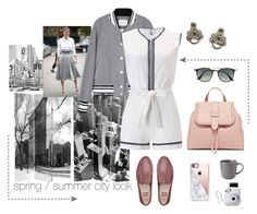A fashion look from November 2016 featuring gray jacket, sleeveless romper and suede loafers. Browse and shop related looks. Fitflop, Suede Loafers, Royal Doulton, Gray Jacket, Fujifilm, Casetify, Ray Bans, Fashion Looks, Rompers