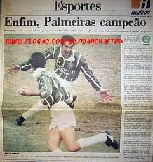 Palmeiras Campeão Paulista 1993.
