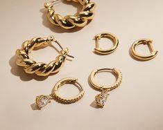 Ana Luisa   Carbon-neutral Jewelry Jewelry Websites, Carbon Neutral, Beautiful Earrings, Ring Designs, Jewelry Design, Personalized Items, Bracelets, Bracelet, Arm Bracelets