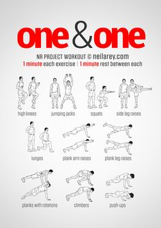 One and One High Intensity Workout