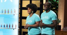 Kim and Tim Lewis, founders of CurlMix Robert Herjavec, African American News, Black Enterprise, African Origins, Black Entrepreneurs, Hair Regimen, Reality Tv Shows, Black Couples, Shark Tank
