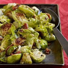 Roasted Brussels Sprouts with Pancetta & Sage - EatingWell.com