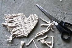 How to make rustic hearts... upcycled style! By Funky Junk Interiors for ebay.com