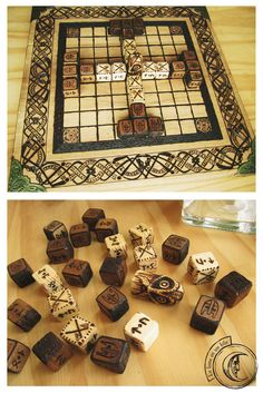 Tablut an ancient finnish board game by Lalunaenunhilo on Etsy