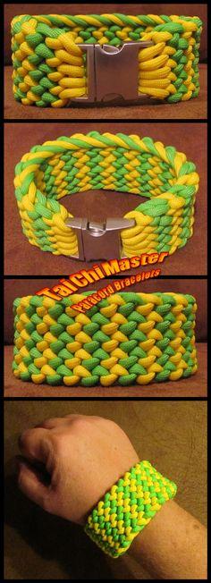 Neon-Conquistador-Survival-Bracelet