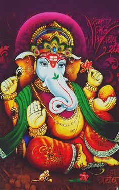 Lakshmi Ganapathi Puja - Invokes Co-Action of Wealth and Prosperity and Remove Bad Effects Ganesha Tattoo, Ganesha Art, Ganesh Images, Ganesha Pictures, Shri Ganesh, Lord Ganesha, Krishna, Photos Of Lord Shiva, Ganesh Photo