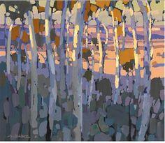 Landscape Art, Landscape Paintings, Blue Mountain, Australian Artists, Art Lessons, Pastel, Trees, Mountains, Painting Art