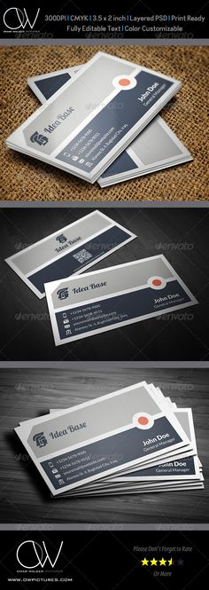 Corporate Business Card Vol.28