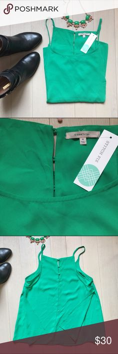 ✨NWT Teal Stitch Fix Button Back Top✨ Got this in a stitch fix, but I already have something similar. Gorgeous teal color, three button closure detail in back and extra panel in back, give this a beautiful fit to this Bentina Button Back Blouse. Great with jeans or for work! Open to bundles and reasonable offers! 41 hawthorne  Tops