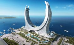 Hotel of the future Lusail Katara Hotel.Doha
