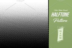 Halftone Pattern by VectorMedia on @creativemarket