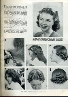 Vintage Hairstyles I thought I'd create a post to showcase all the retro pincurl setting patterns I find. Elizabeth Taylor, Ava Gardner, and a style that looks like Audrey Hepburn's are in there, as we… Vintage Hairstyles Tutorial, 1940s Hairstyles, Curled Hairstyles, Vintage Haircuts, Wedding Hairstyles, Historical Hairstyles, Retro Updo, Hair Patterns, Curl Pattern