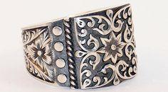 925 Sterling Silver Totally Handmade Artisan Filigree
