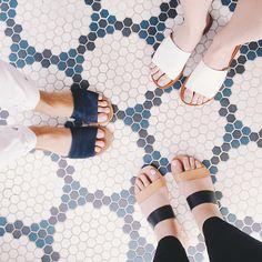 See Lauren's style picks for summer slide sandals on LaurenConrad.com