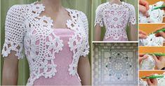 Aprende con Sara: Patrones Completos para hacer este Bolero a crochet para combinar con toda tu ropa