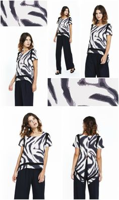 Feeling wild? Liquorish Zebra Print Split Back T Shirt is just the piece for you, available here: https://www.liquorishonline.com/liquorish-zebra-print-split-back-t-shirt.html