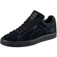Sneakers puma outfit casual 64 Ideas for 2019 Casual Heels, Casual Sneakers, All Black Sneakers, Puma Outfit, Black Suede Shoes, Fashion Shoes, Men's Fashion, Sneakers Fashion, Puma Suede