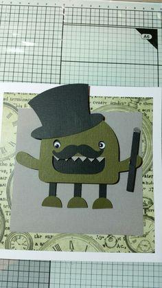 Monster from cricut