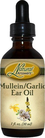 Mullein/ Garlic Ear Oil Drops  Olive oil infused with Garlic, Mullein flowers, Calendula and St. John's Wort flowers