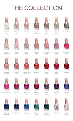 Sally Hansen Color Therapy - The Advanced New Nail Polish That Combines Color And Care Nail Polish Brands, New Nail Polish, Nail Polish Colors, Pretty Nail Colors, Fall Nail Colors, Pretty Nails, Essie, Baby Oil Gel, Sally Hansen Color Therapy